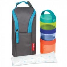 Skip Hop Комплект контейнери за храна с чанта