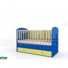 Бебешко легло БАМ БАМ без механизъм за люлеене