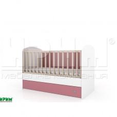 Бебешко легло ПЕБЪЛС без механизъм за люлеене