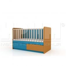 Бебешко легло БИБО без механизъм за люлеене